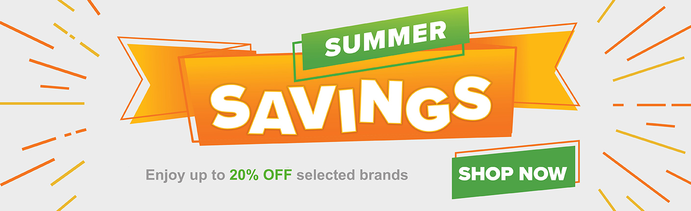 Save up to 20% during Sept