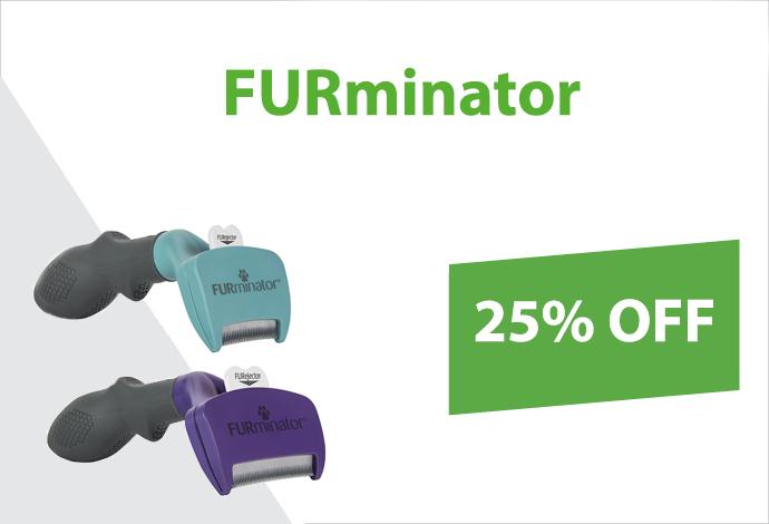 Get 25% off FURminator!